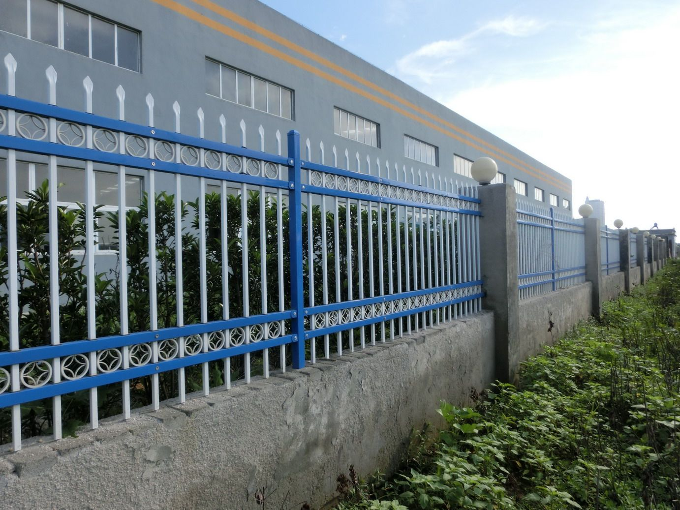 Zinc Steel Fence High Security Fence Hebei Giant Metal